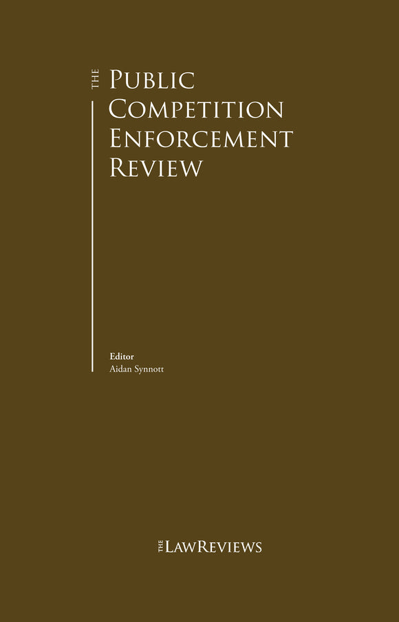 The Public Competition Enforcement Review - 11th Edition