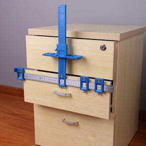 DrillAid™ Woodworking Punch Locator Drill Guide