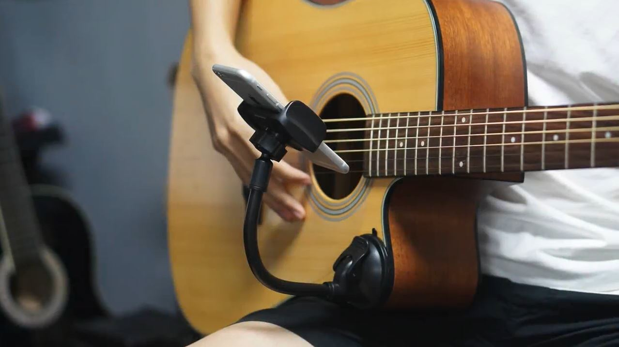 Guitar Phone Holder