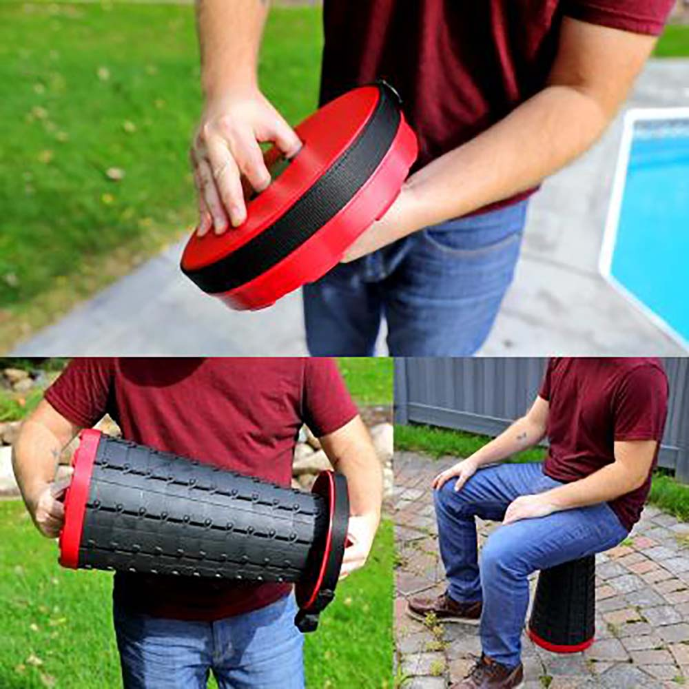 Sit'N'Go™ Retractable Stool
