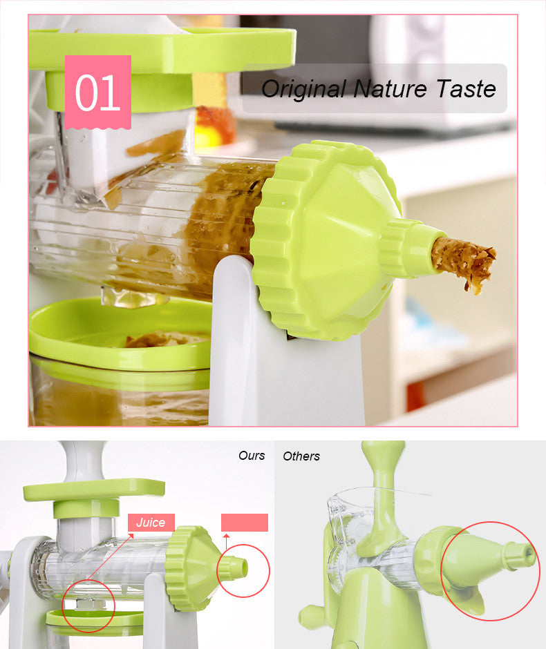 MANUAL JUICER FOR FRUIT AND VEGETABLE