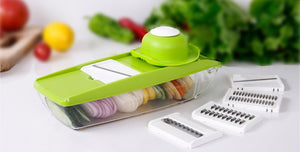VEGETABLE CUTTER BOX MANDOLINE SLICER