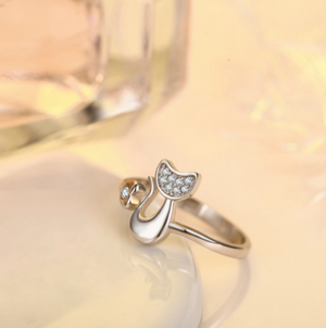 CAT RESIZABLE OPEN RING