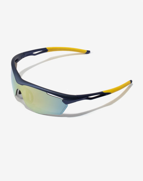 Gafas de sol Blue Acid Training vista lateral