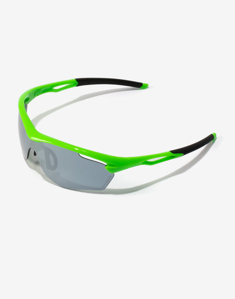 Gafas de sol Lime Chrome Training vista lateral