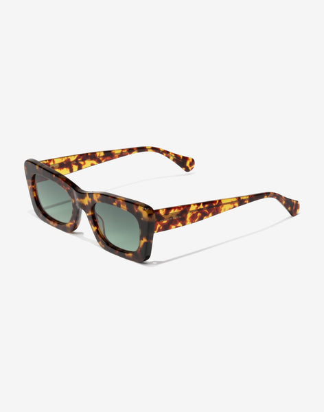 Gafas de sol Carey Green Bottle Lauper vista lateral