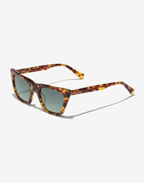 Gafas de sol Carey Green Bottle Hypnose vista lateral