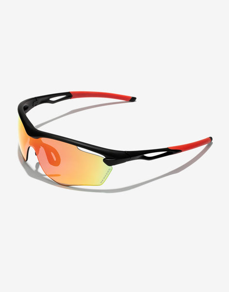Gafas de sol Polarized Black Ruby Training vista lateral