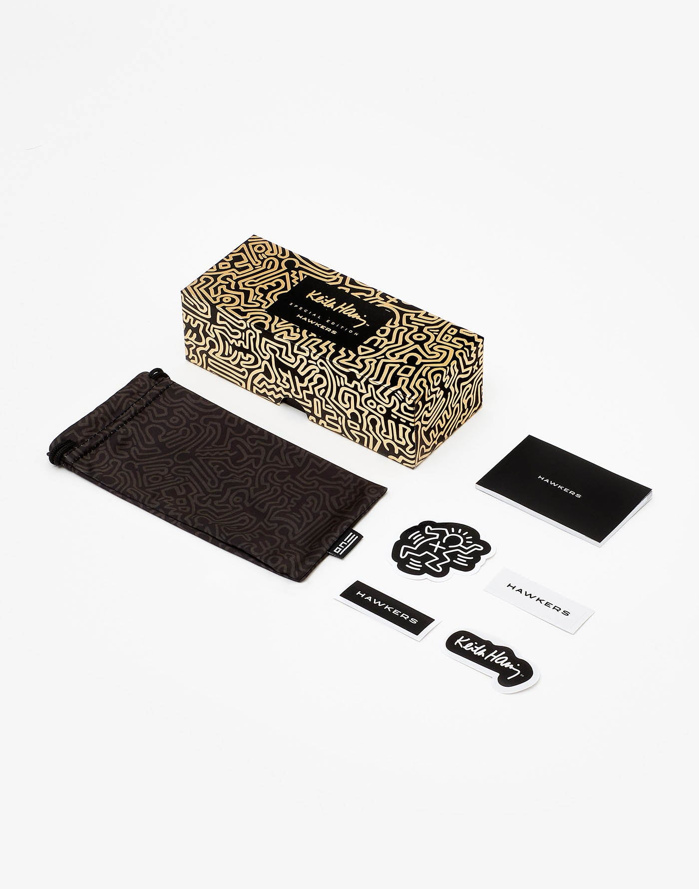Keith Haring x Hawkers · Bicolor Gold