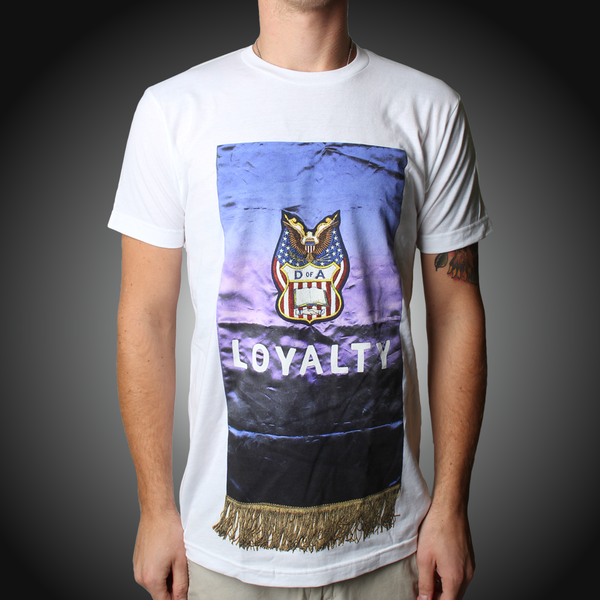Loyalty White Tee