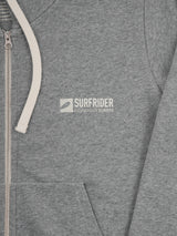 The Logo Hooded Zipper Man