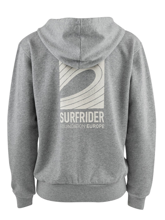 The Logo Hooded Zipper Women