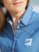 The Surfrider Denim Shirt