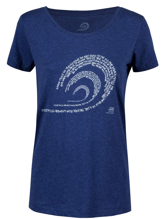 Peter Harper X Surfrider / The Lyrics Logo Tee
