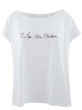 To the Ocean Tee by Cecilia Photographie