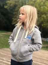 The Sunset Hooded Zipper For Kids