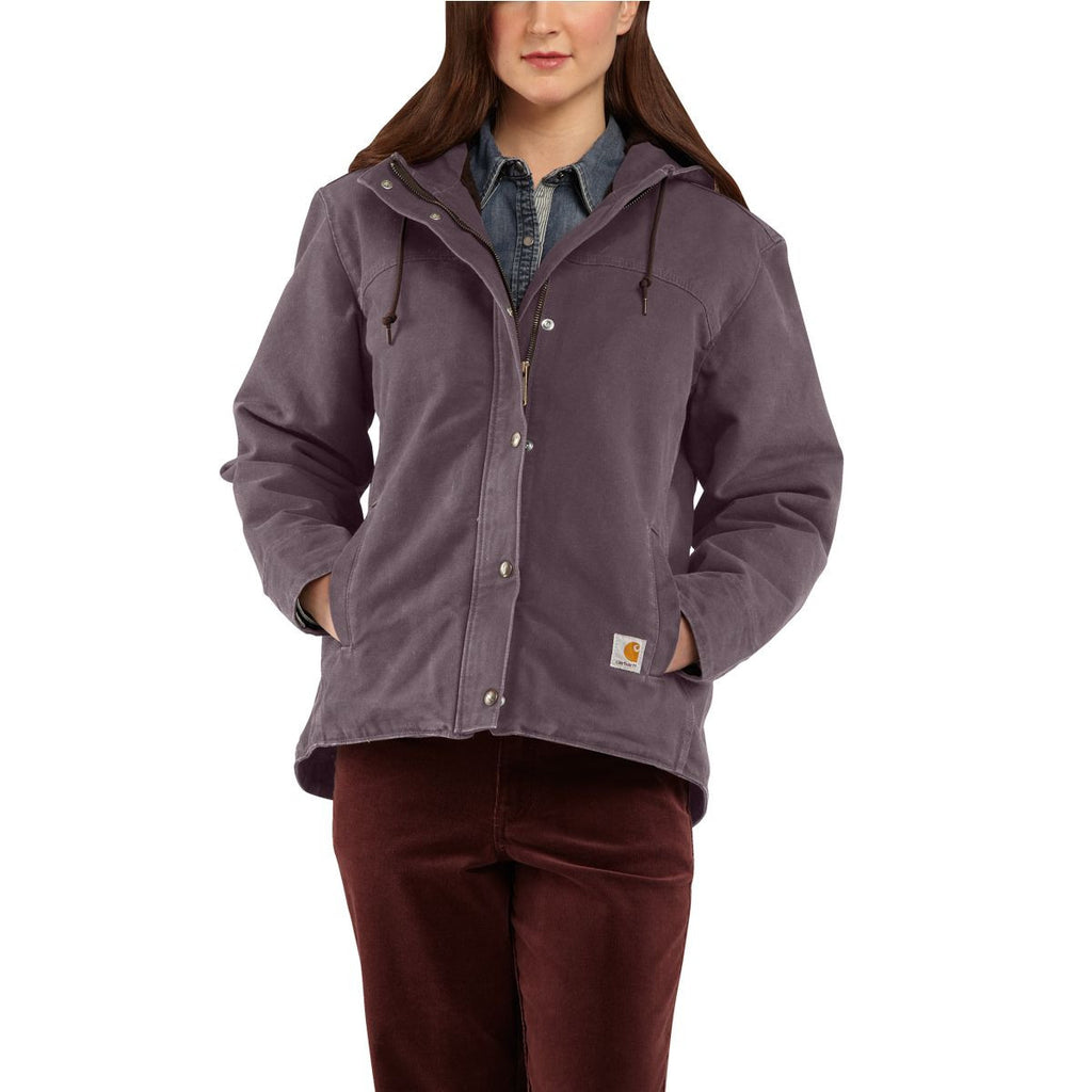 Carhartt Women's Dusty Plum Sandstone Berkley Jacket