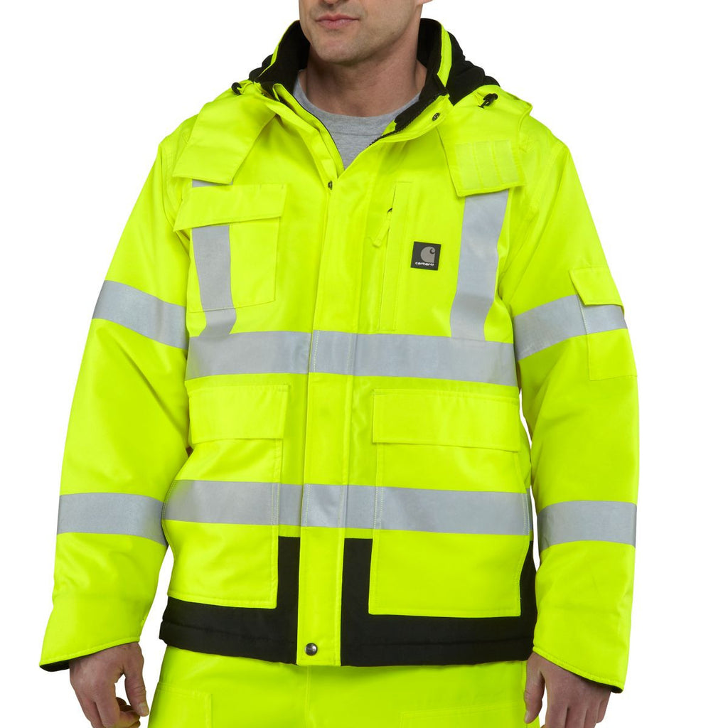 Carhartt Men's Brite Lime High Visibility Sherwood Jacket