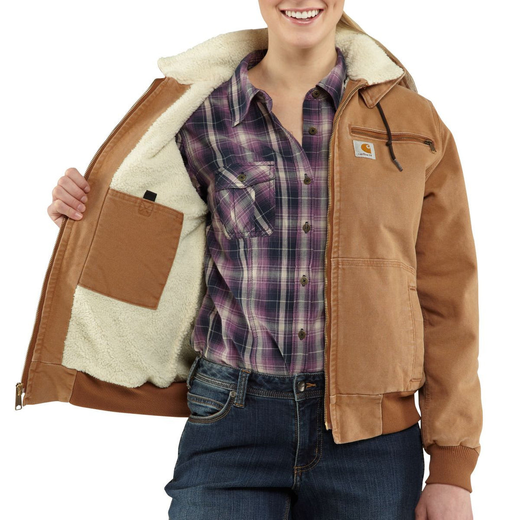 Carhartt Women's Carhartt Brown Weathered Duck Wildwood Jacket