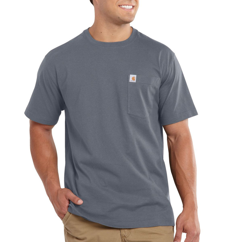 Carhartt Men's Flint Stone Maddock Pocket Short Sleeve T-Shirt
