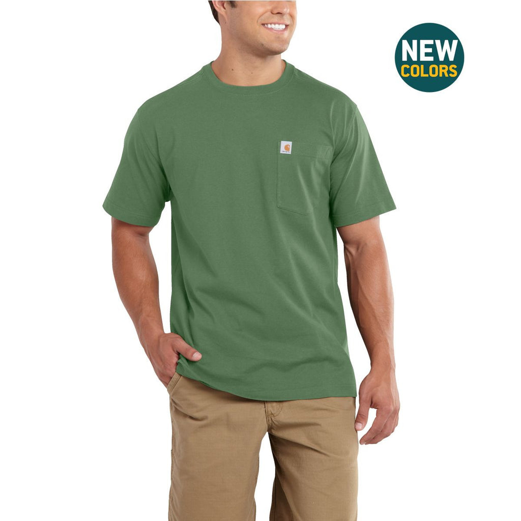 Carhartt Men's Herb Maddock Pocket Short Sleeve T-Shirt