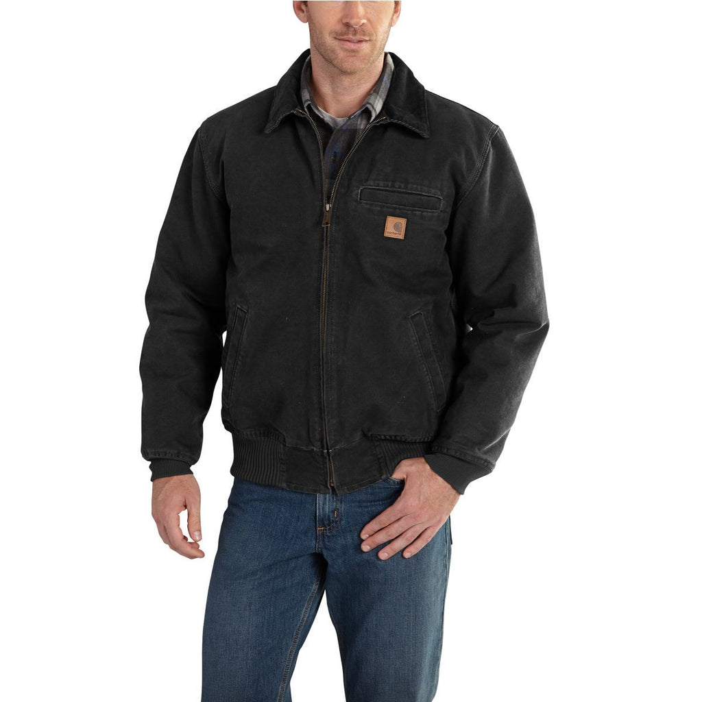 Carhartt Men's Black Bankston Jacket
