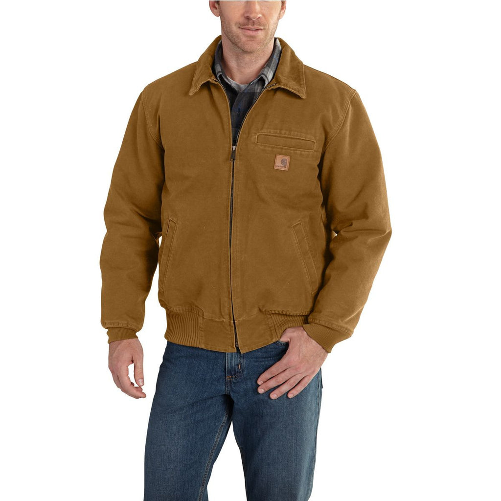 Carhartt Men's Carhartt Brown Bankston Jacket