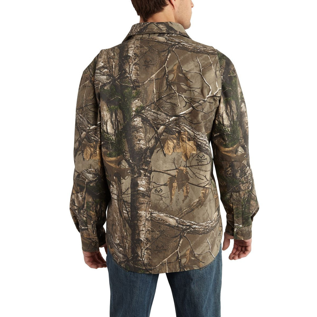 Carhartt Men's Realtree Xtra Wexford Camo Shirt Jacket