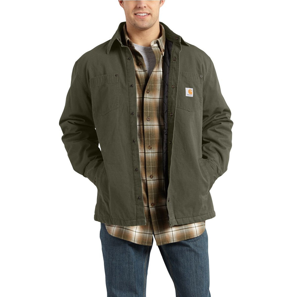 Carhartt Men's Moss Chatfield Ripstop Shirt Jacket