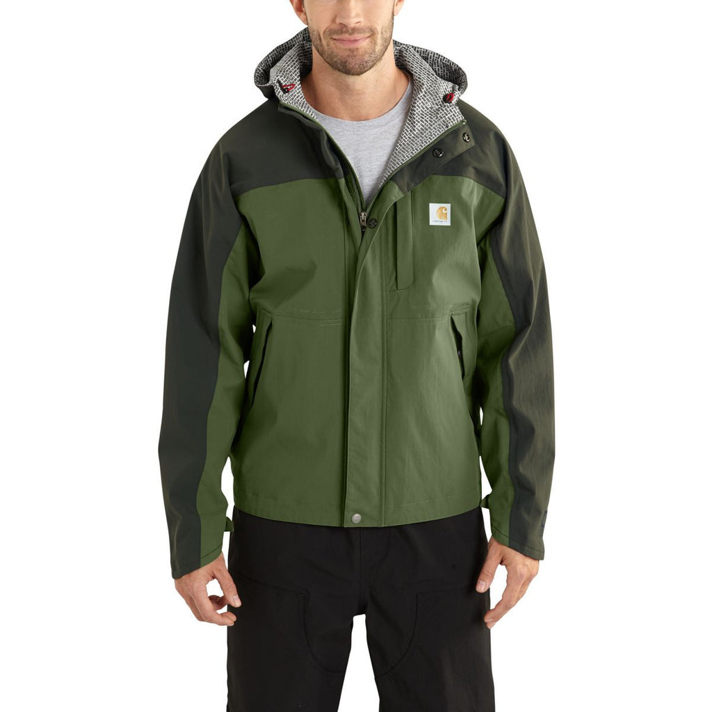 Carhartt Men's Bronze Green/Olive Shoreline Vapor Jacket