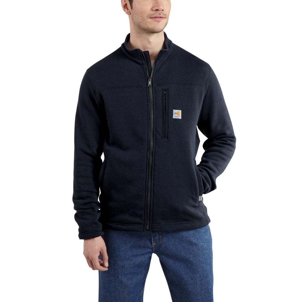 Carhartt Men's Dark Navy Flame-Resistant Portage Jacket