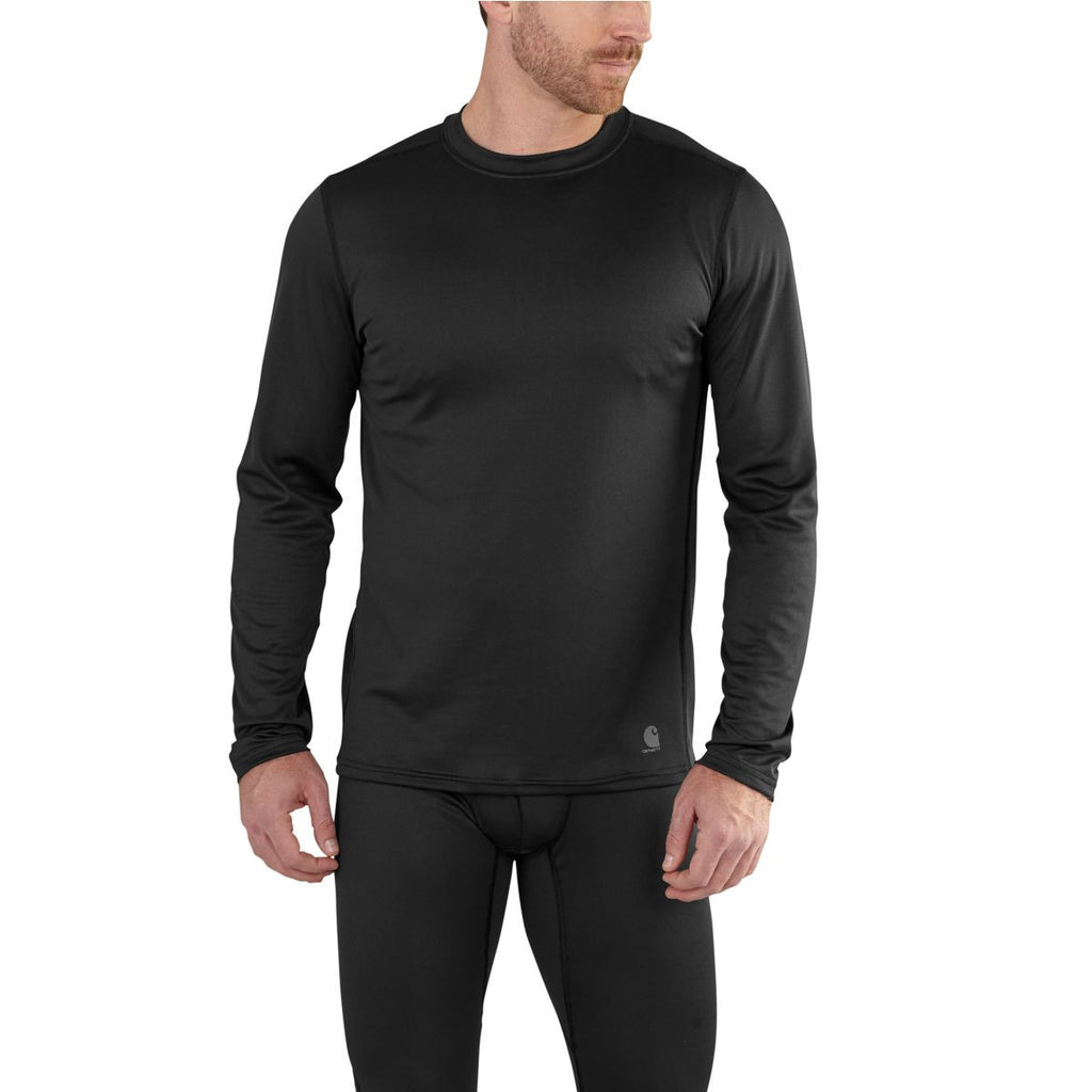 Carhartt Men's Black Base Force Extremes Lightweight Crewneck
