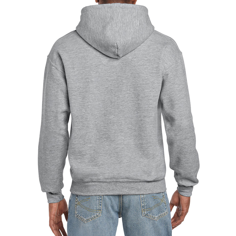 Gildan Men's Sport Grey Hooded Sweatshirt