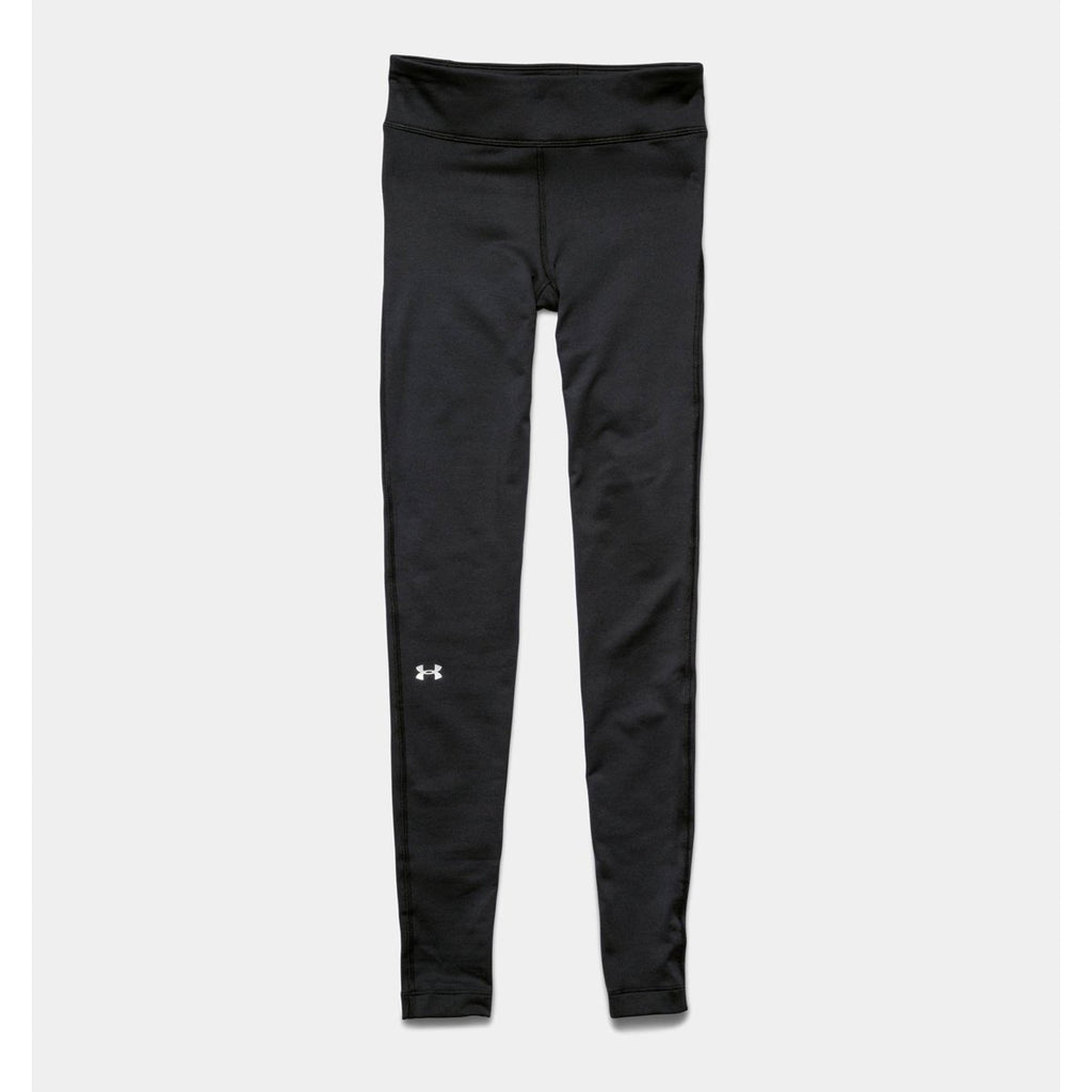 fa98e0f7413396 Under Armour Women's Black UA Coldgear Authentic Legging. ADD YOUR LOGO