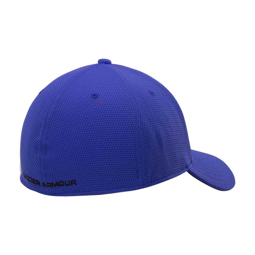 new arrival 08904 e1a56 ... shopping under armour mens royal blitzing ii stretch fit cap 5120c 7af56