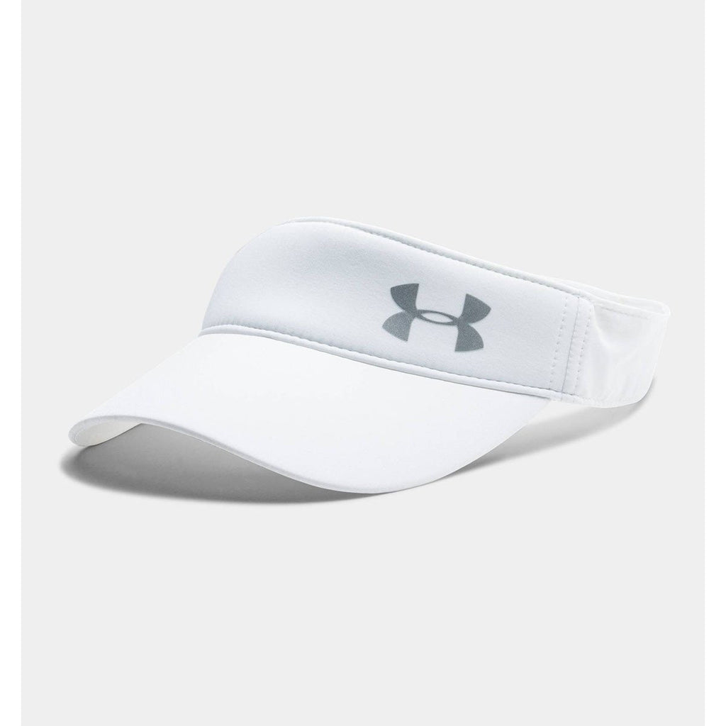 Under Armour Women s White UA Fly Fast Visor 1537ee7a5a07