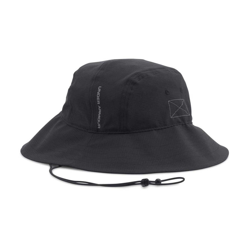Under Armour Men's Black ArmourVent Bucket Hat