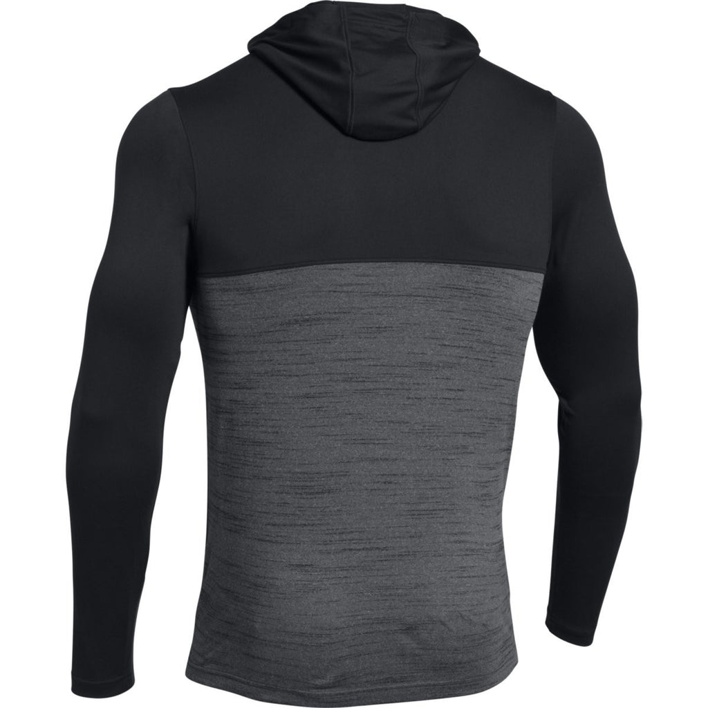 Under Armour Men's Black Tech Quarter Zip Hoody