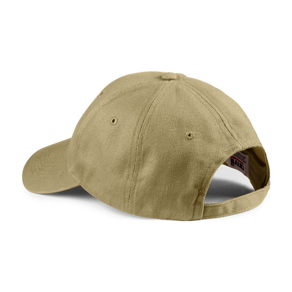Anvil Khaki Solid Brushed Twill Cap