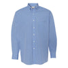 13v0225-van-heusen-blue-gingham-shirt