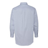 Van Heusen Men's Grey Feather Stripe With Contrast Long Sleeve Shirt