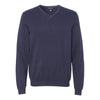 13vs003-van-heusen-navy-v-neck-sweater