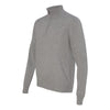 Van Heusen Men's Grey Long Sleeve Quarter Zip Knit Sweater