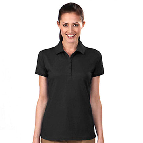 IZOD Ladies' Black Knit Performance Polo