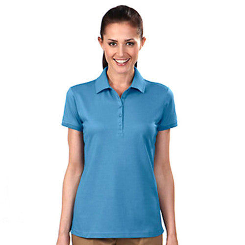 IZOD Ladies' Blue Frost Knit Performance Polo