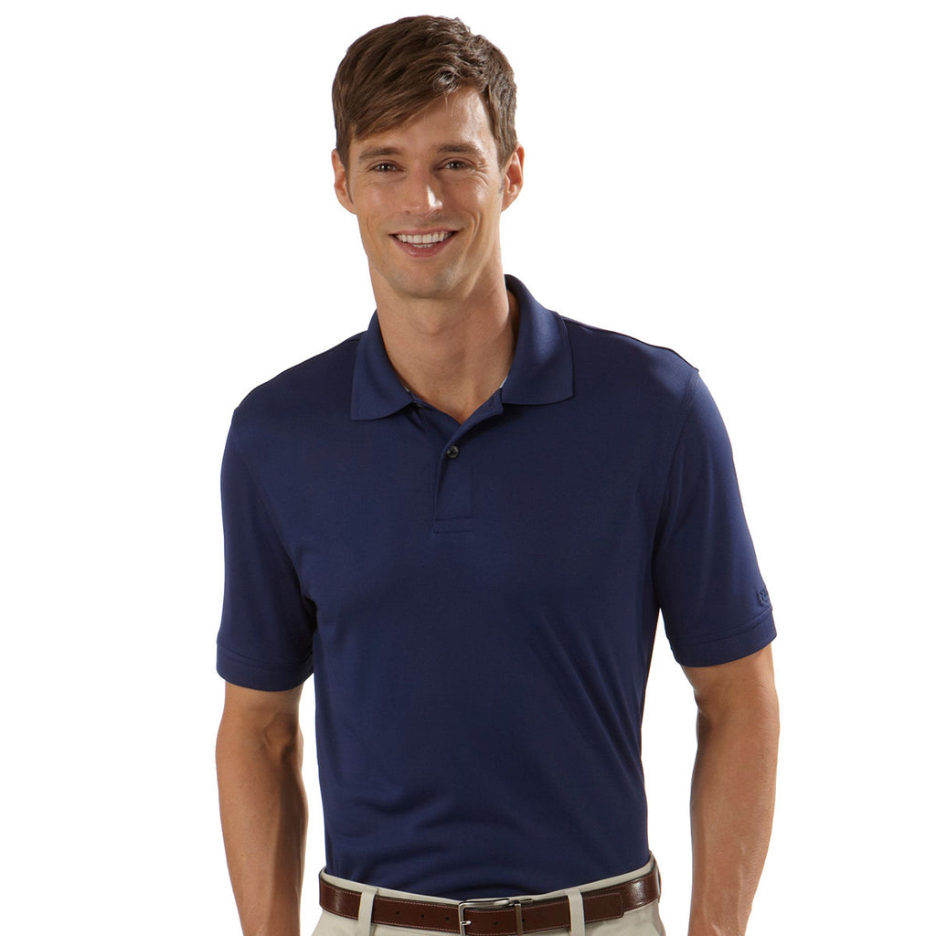 IZOD Men's Navy Performance Polyester Solid Jersey