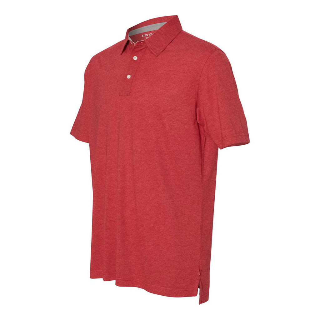 IZOD Men's Real Red Jersey Polo