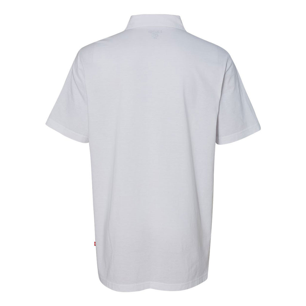 IZOD Men's White Jersey Polo