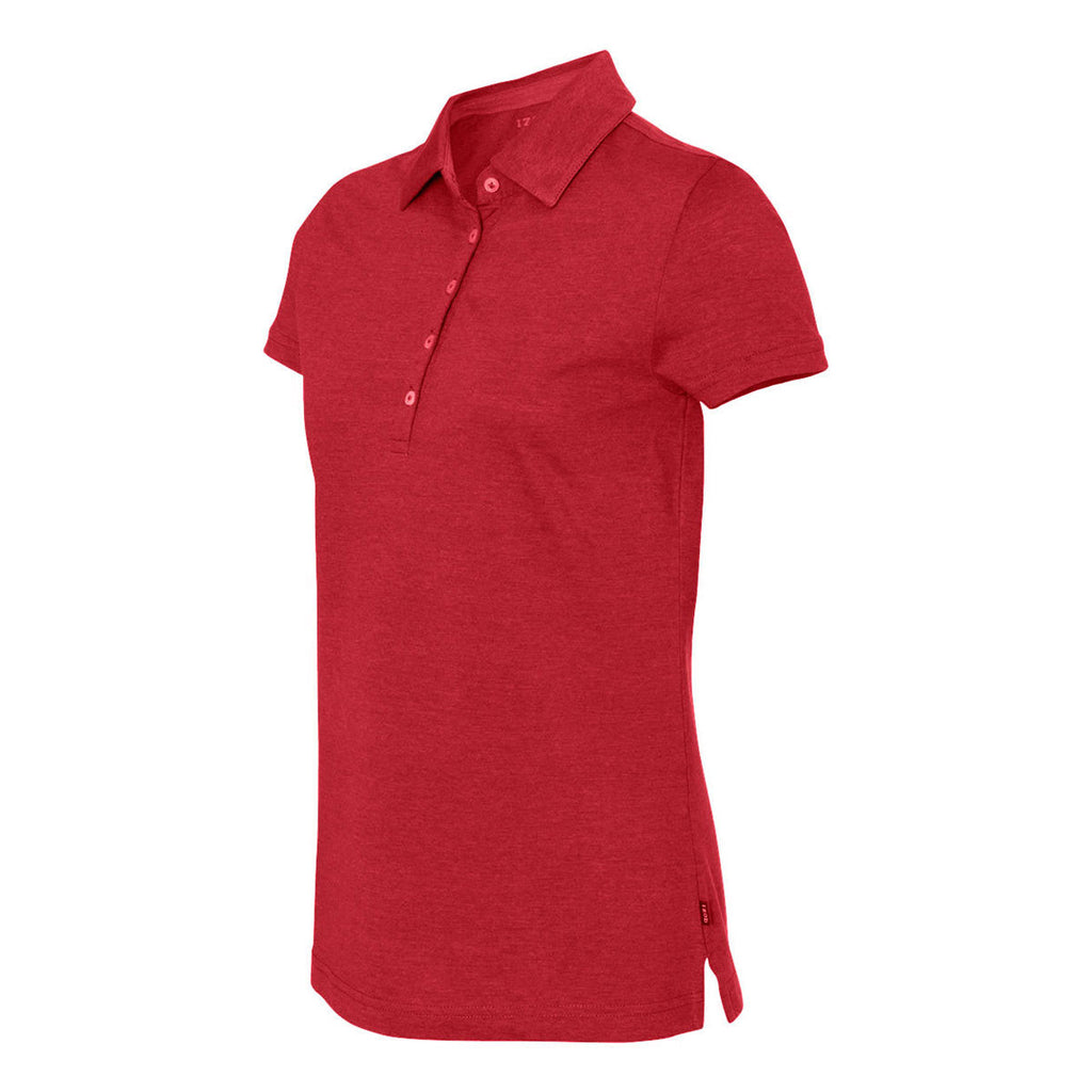 IZOD Ladies' Real Red Jersey Polo