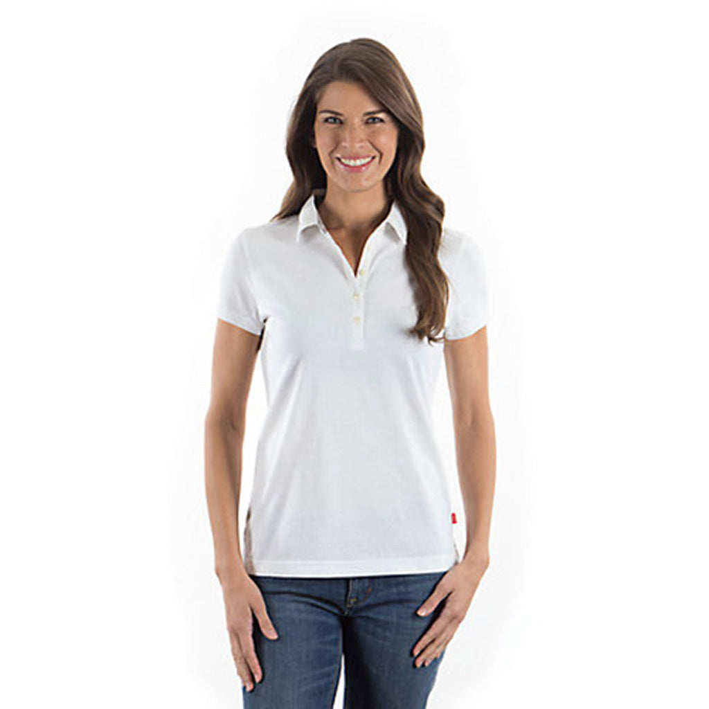 IZOD Ladies' White Jersey Polo